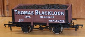 CMM011 Thomas Blacklock of Mealsgate 5-Plank Open Wagon. EXCLUSIVE TO C&M MODELS